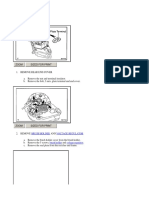 Article Electrical Alternator Disassembly