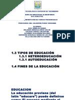 Tipos de Educacion 2
