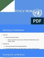 basic mun procedures presentation