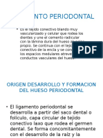 Ligamento peridental
