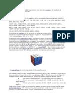 En Aritmética y Álgebra, El Cubo de Un Número n Es La Tercera Potencia —El Resultado de Multiplicar Por Sí Mismo Tres Veces-1