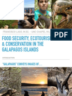 Food Security, Ecotourism, and Conservation in the Galapagos Islands