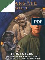 AEG2213 Stargate SG-1 - First Steps (Book5)
