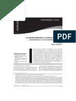 DERECHO PROCESAL CIVIL III  - Luis Alfaro. Oposición MC.