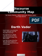 discourse community map power point