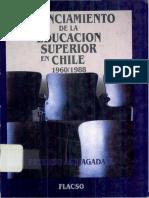 Financiamiento de La Educacion Superior en chile