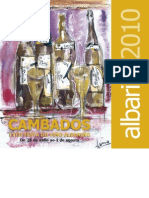 Programa Albariño 2010 con pictos
