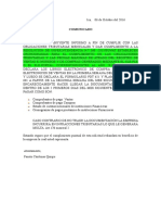 Carta Solicitud de Documentos Empresas