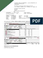 Solución análisis de costo pozo celler