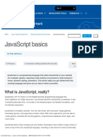 JavaScript Basics - Learn Web Development _ MDN