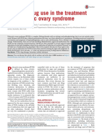 Off Label Drug Use in the Treatment of Polycystic Ovary Syndrome 2015 Fertility and Sterility