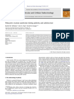 Polycystic Ovarian Syndrome During Puberty and Adolescence 2013 Molecular and Cellular Endocrinology