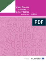 government finance statistics