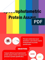 E4 Spectrophotometric Protein Assays