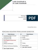 Week 3 - Class Diagram Use Case Diagram