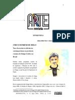 Artigo Entrevista Chico Homem de Melo