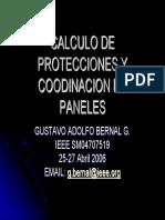 Calculo de Protecciones y Coodinacion de Paneles