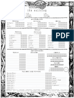 Character Sheet WtO NWoD