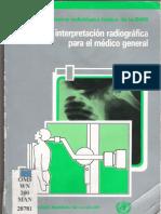 Manual de Interpretacion Radiologico Para El Medico General