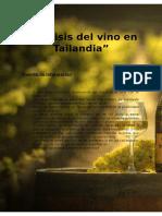 Análisis Del Vino en Tailandia