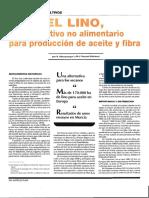 El Lino Cultivo No Agropecuario