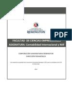 Contabilidad Internacional - NIIF