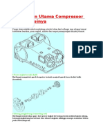Komponen Utama Compressor Dan Fungsinya