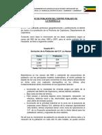 13.5 Estudio de Población - Huaraclla