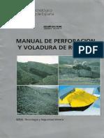 209393479 ManuaL de Perforacion y Voladura de Rocas LOPEZ JIMENO