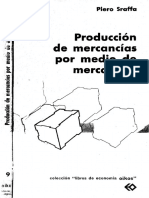 Sraffa Piero - Producción de Mercancias Por Medio de Mercancias