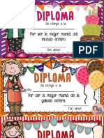 Diplomas Día Madres