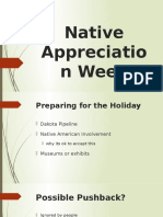 native american appreciation