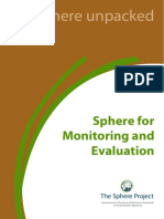 Sphere for Monitoring and Evaluation