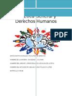 Ética General y Derechos Humanos