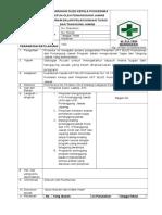 2.3.7.1 SPO Pengarahan Oleh Kepala Puskesmas Maupun Oleh Penanggung Jawab Program Dalam Pelaksanaan Tugas Dan Tanggung Jawab