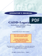 Cadd Legacy One 6400