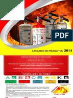 Catalogo de Productos Fanex 2014