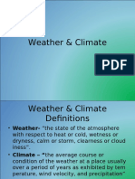 LESSON 2-Weather and Climate