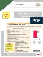 AWS D1.1-D 1.1M-2015