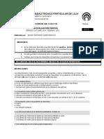 Presencial Bioquimica 2 Bimestre