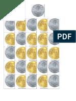 monedas 1 f