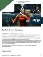 Star Trek Cypher