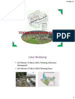 Teknik Pemetaan Desa