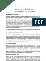 Contexto mundial de las independencias latinoamericanas