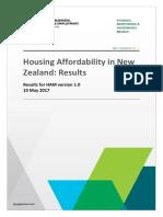 HAM v 1.0 Results Paper