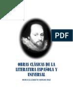Obras Clásicas de La Literatura Española y Universal