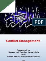 Final Conflict Managemen Presentation