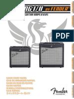 Mustang I-II Quick Start Guide Rev-D MULTI