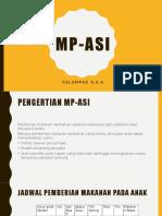MP ASI Penyuluhan