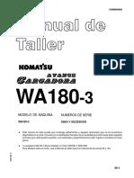 Manual de Taller Cargador Frontal -  WA180-3 _ Komatsu.pdf